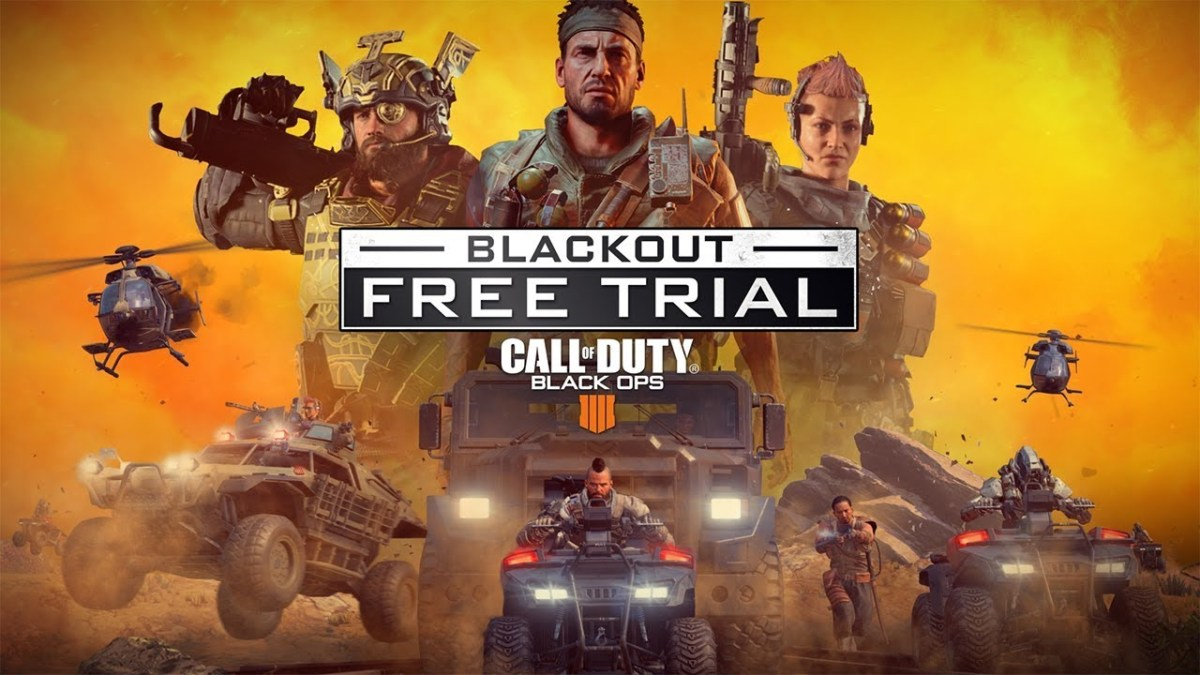 BLACK OPS 4 - Blackout Trial startet Morgen